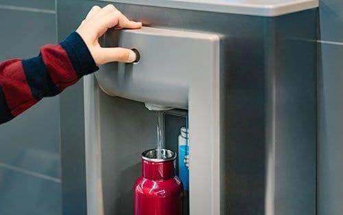 Refilling Waterbottle